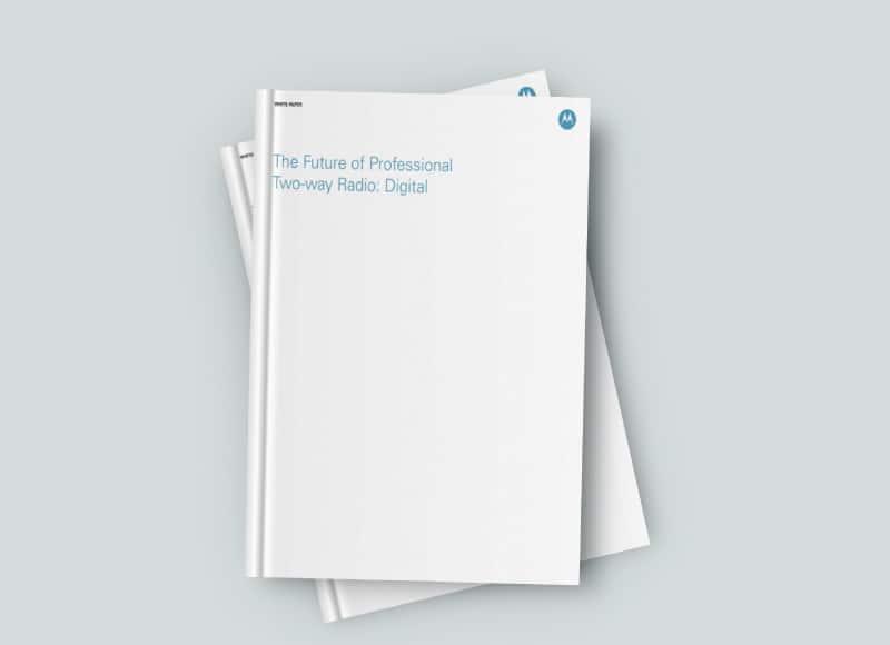 DMR Future of two way radio whitepaper