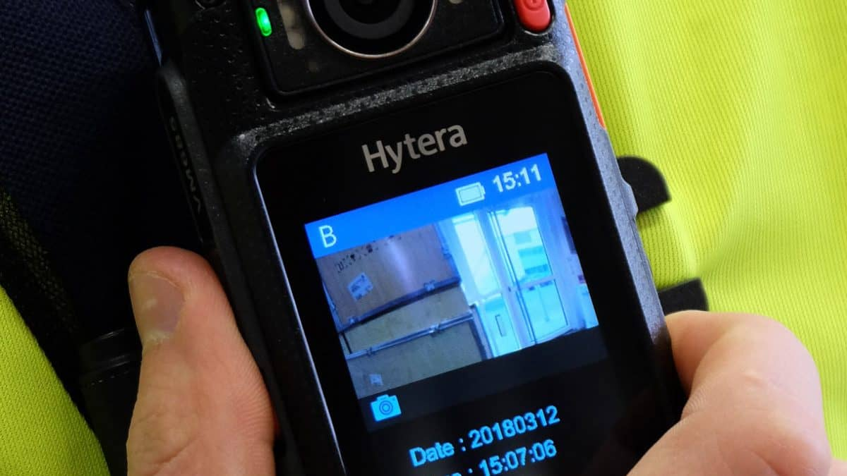 Why use body worn cameras image