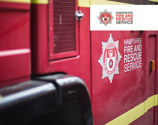 Hampshire Fire Motorola Solutions MOTOTRBO and WAVE 5000 Communications Systems Client Story Radiocoms Systems Ltd