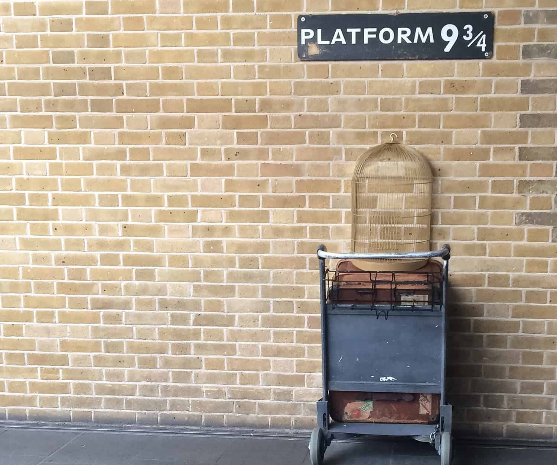 Harry Potter Platform 9 ¾ Kings Cross large image