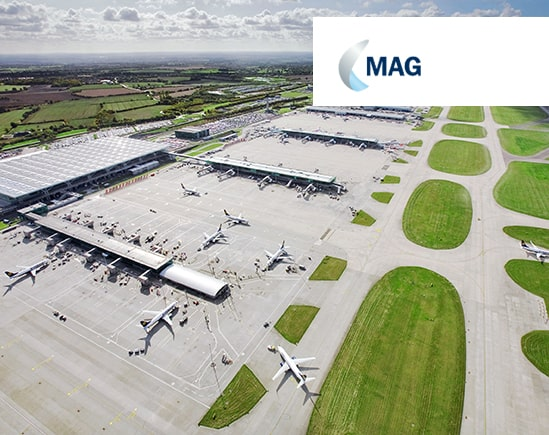 MAG Motorola Solutions MOTOTRBO Capacity Max at Stansted Client Story Radiocoms Systems Ltd