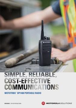 Motorola DP1400 Brochure
