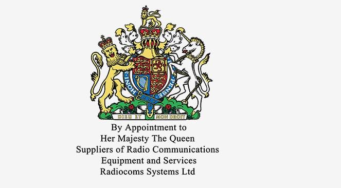 Radiocoms Royal Warrant Crest