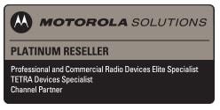 motorola solutions platinum reseller logo