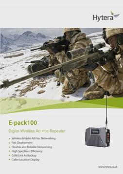 Hytera E-Pack 100 Brochure