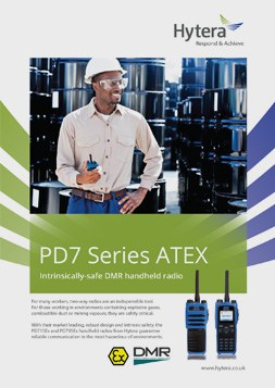 Hytera PD7 Series Atex Brochure