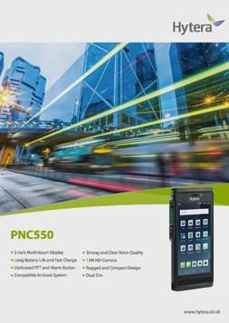 Hytera PNC550 Brochure