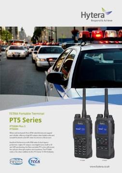 Hytera TETRA PT5 Series brochure