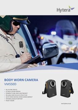 Hytera VM550D Body Worn Camera Brochure