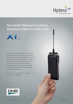 Hytera X1e Brochure