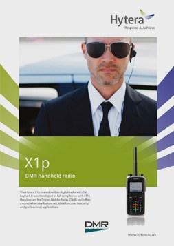 Hytera X1p brochure