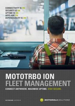 MOTOTRBO Ion Fleet Management Brochure