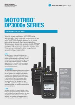 MOTOTRBO dp3661e datasheet