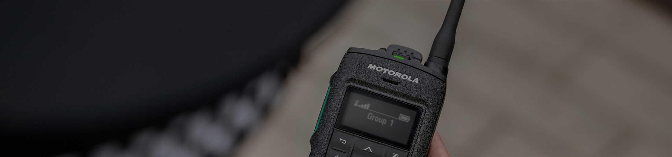 Motorola TETRA ST750 Pager Case Study image