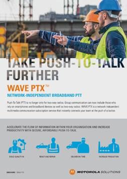 WAVE PTX Brochure