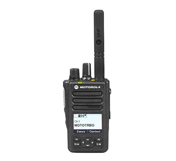 MOTOTRBO DP3661e front view digital two way radio