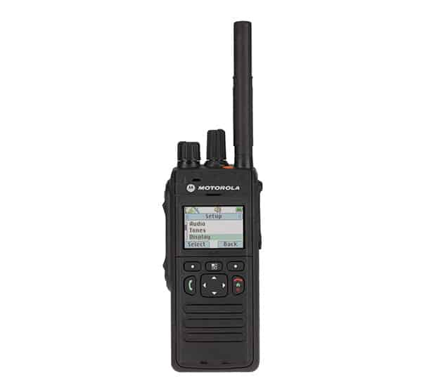 Motorola solutions mpt3500 tetra portable front two way radio