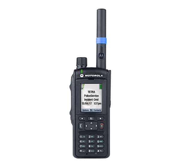 motorola mpt6650 tetra portable front tw way radio