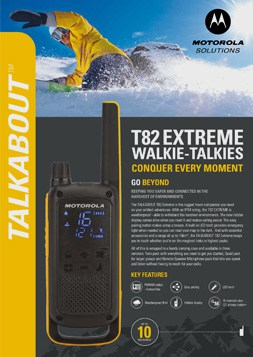 motorola solutions talkabout t82 extreme datasheet
