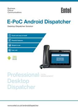E-PoC Android Dispatcher Brochure