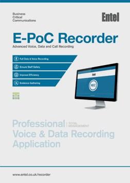 E-PoC Recorder Brochure