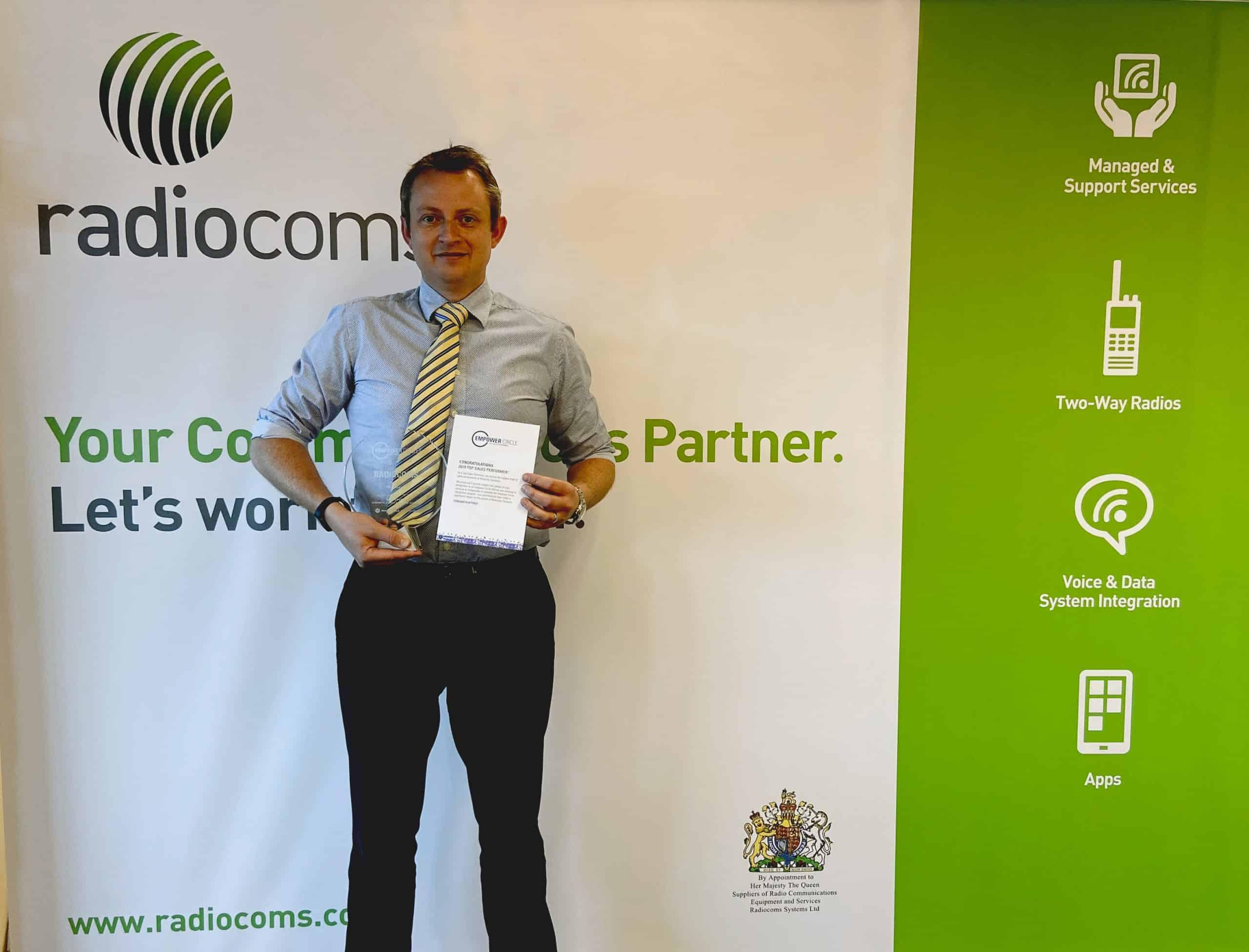 Radiocoms Empower Award - Motorola Solutions