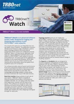 TRBOnet Watch PDF