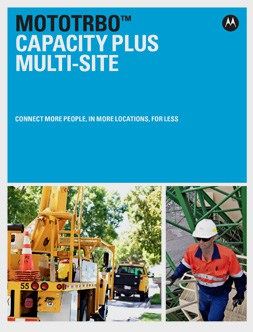 mototrbo capacity plus multi-site brochure
