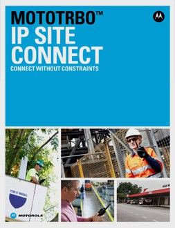 mototrbo ip site connect brochure