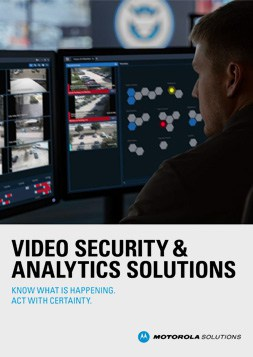 video security and analytics solutions brochure