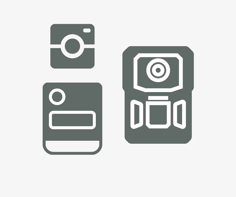 Body worn camera products - grey