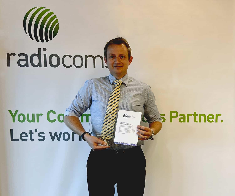Radiocoms Motorola Award - History