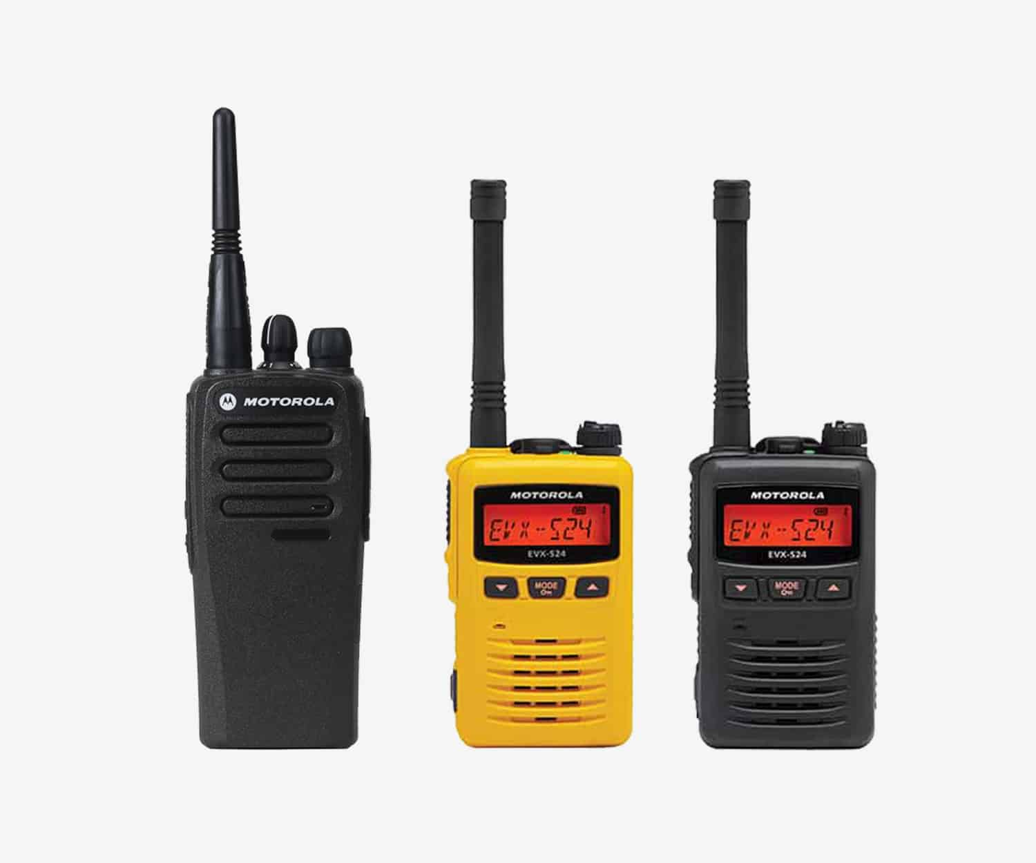 Two way radio for small, independent construction contractors