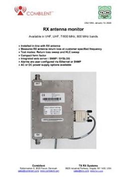 Combilent RX Antenna Monitor PDF
