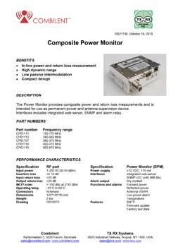 Combilent TX Antenna Monitor PDF