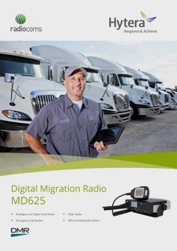 Hytera MD625 Digital Migration Radio Data Sheet