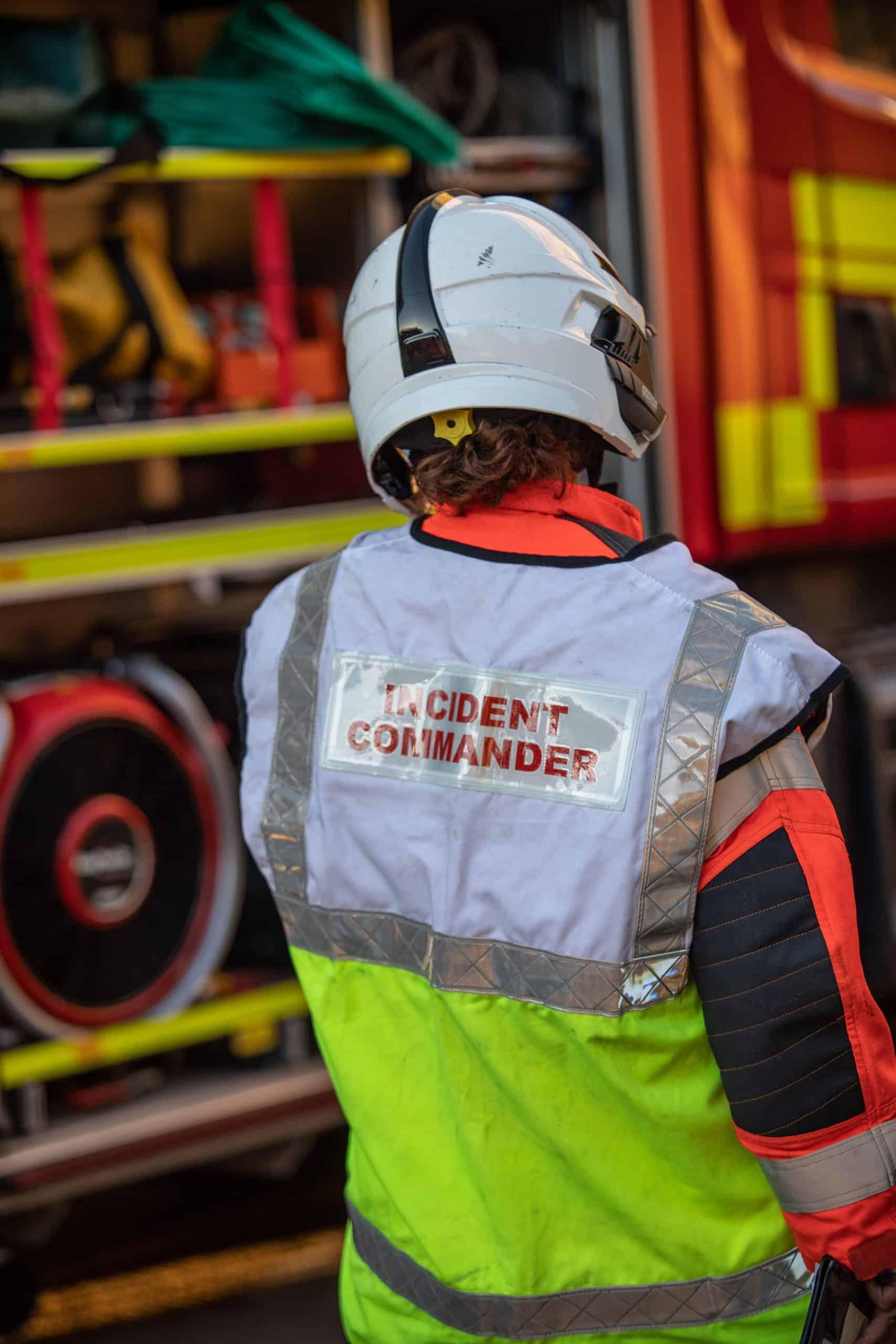 Cambridgeshire FRS fireground radio communications upgrade - image credit Cambridgeshire FRS