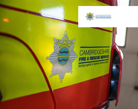 Cambridgeshire Fire and Rescue Service incident fireground communications upgrade