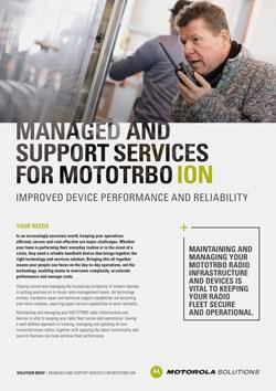 MOTOTRBO Ion Service Solution Brief