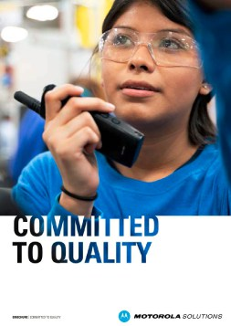 Motorola-MOTOTRBO-Committed-to-Quality