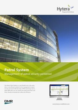 Hytera Patrol System brochure