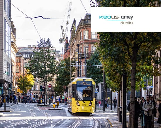 Radiocoms - client story - largest light rail network in the UK KAM