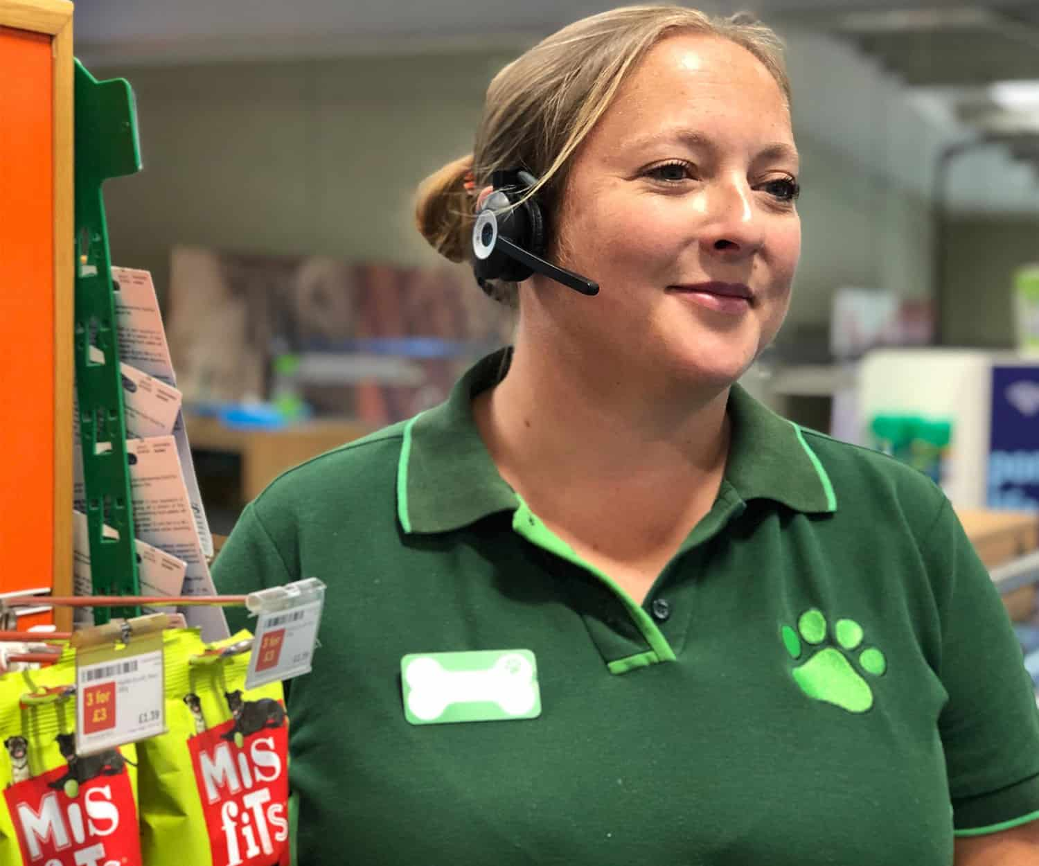 VoCoVo Pets at home - GO Wireless headsets